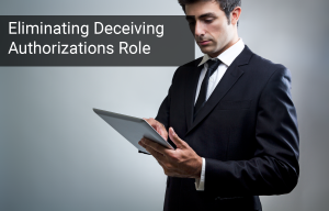 "How to Eliminate ""Deceiving"" Authorization Roles"