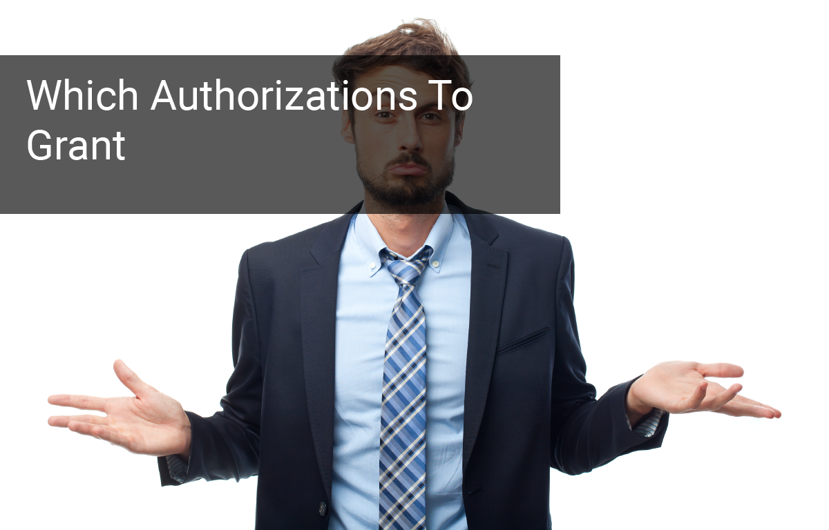 Authorizations To Grant